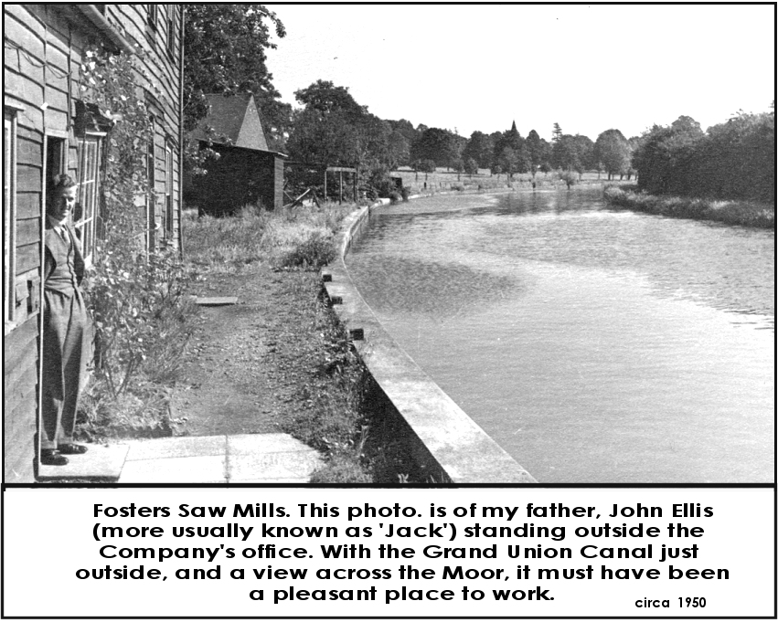 Fosters Saw Mills circa 1950