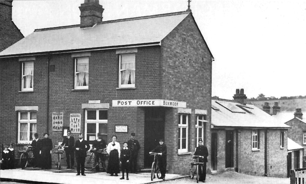 Boxmoor Post Office, just opened, 1906